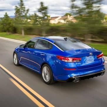 2019 Kia Optima Driving