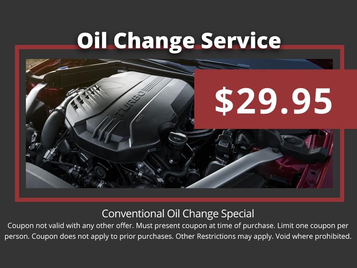 Kia Oil Change Special