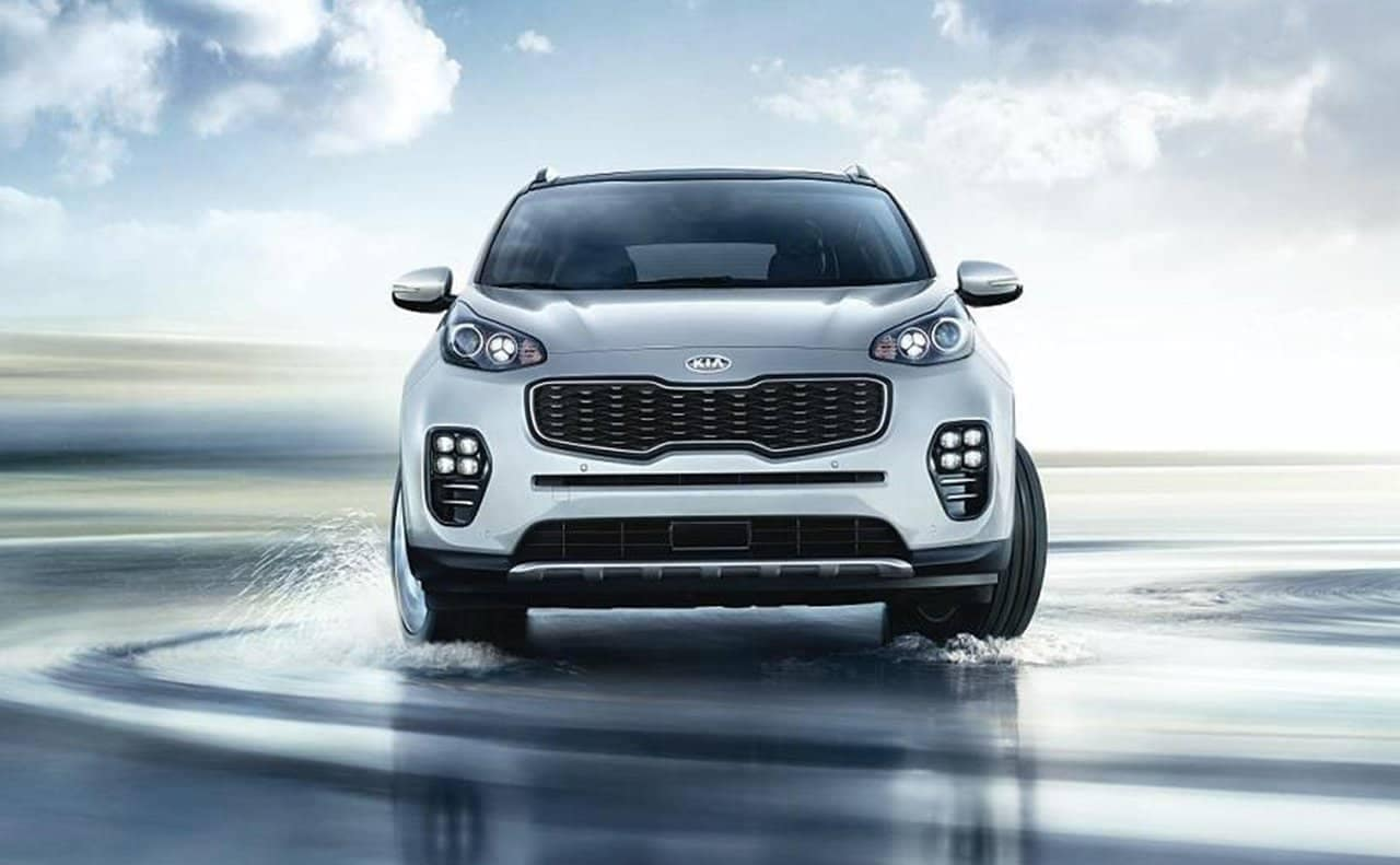 2019 Kia Sportage Turning