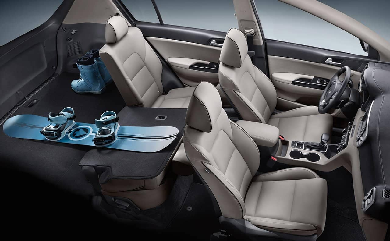 2019 Kia Sportage Seating