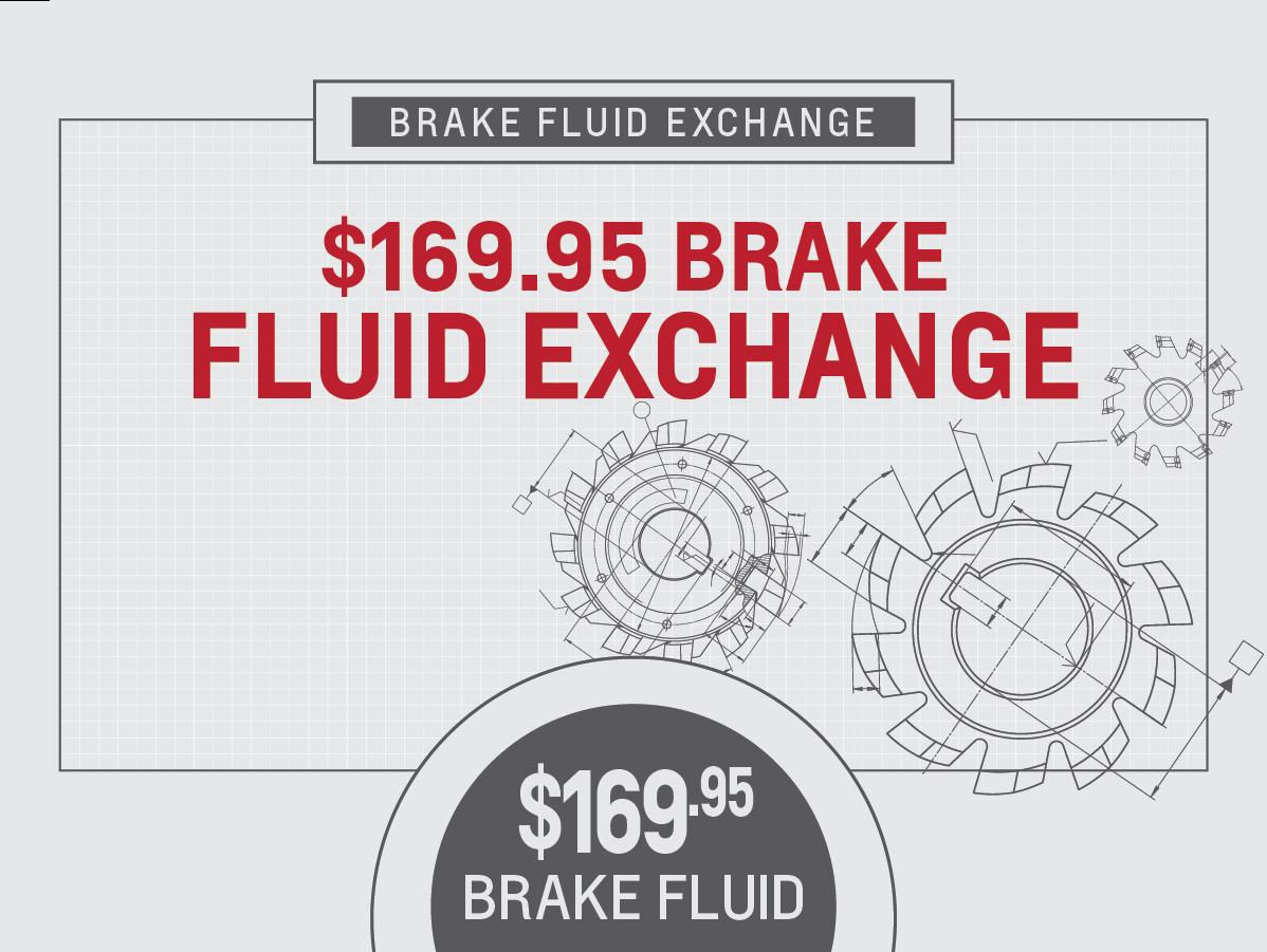 Brake Fluid Exchange Service Special Coupon