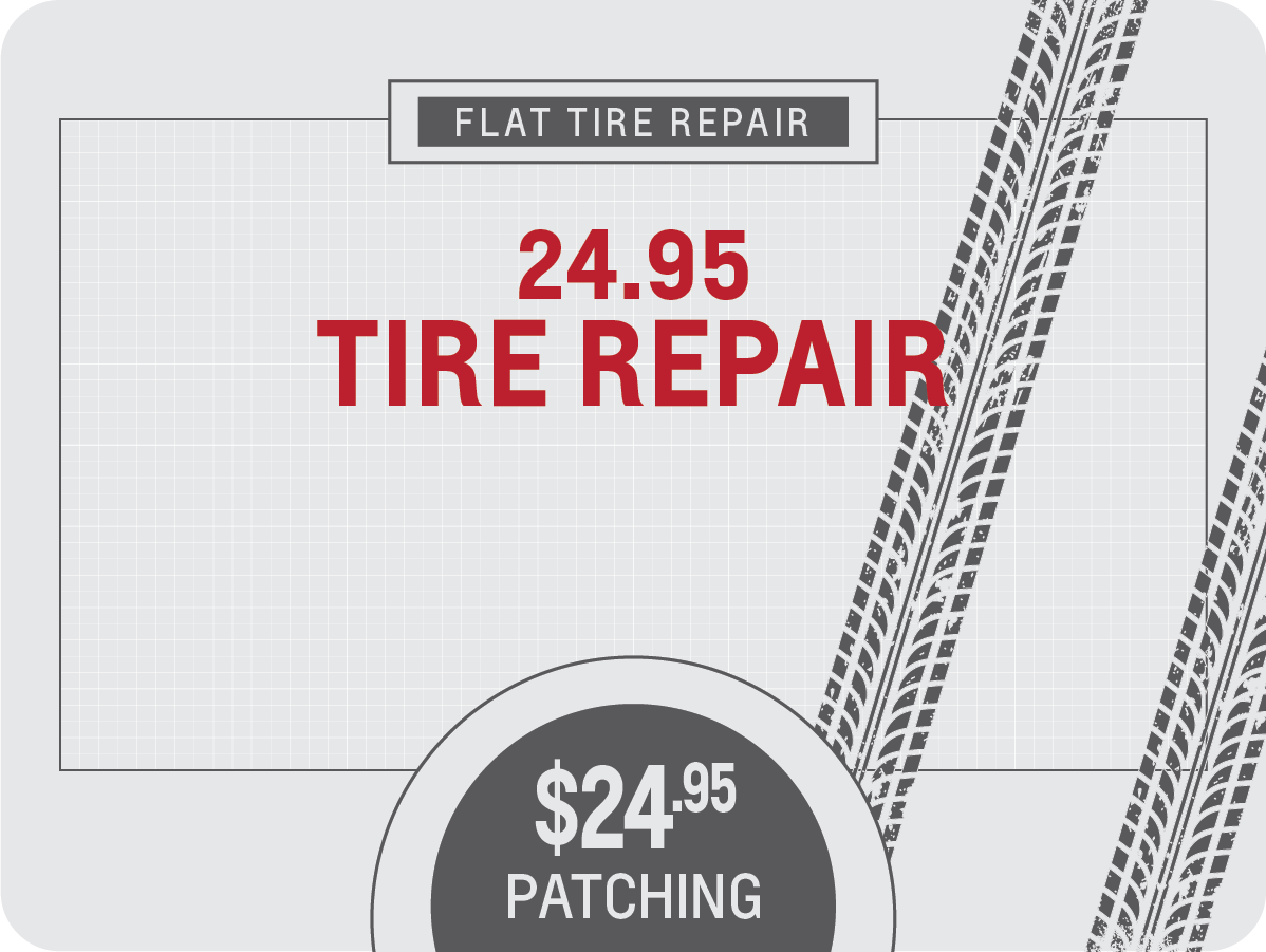 Flat Tire Repair Service Special Coupon