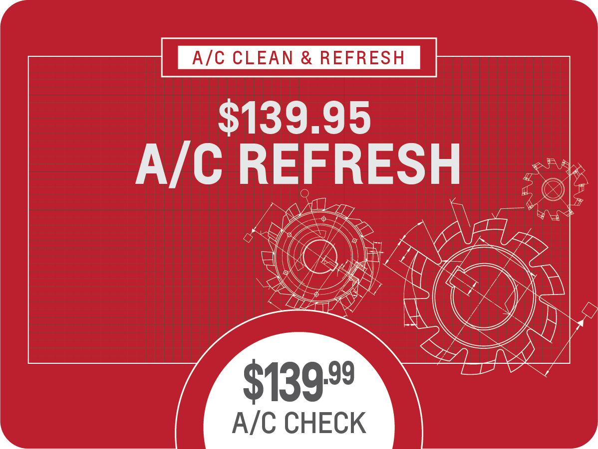 A/C Clean & Refresh Service Special Coupon
