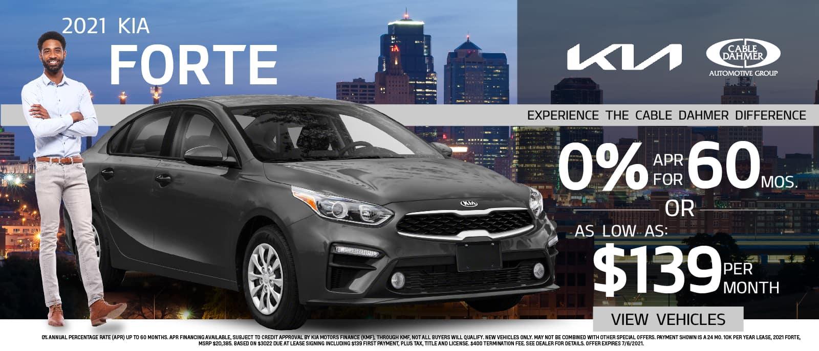 2021 Kia Forte – June Promotion