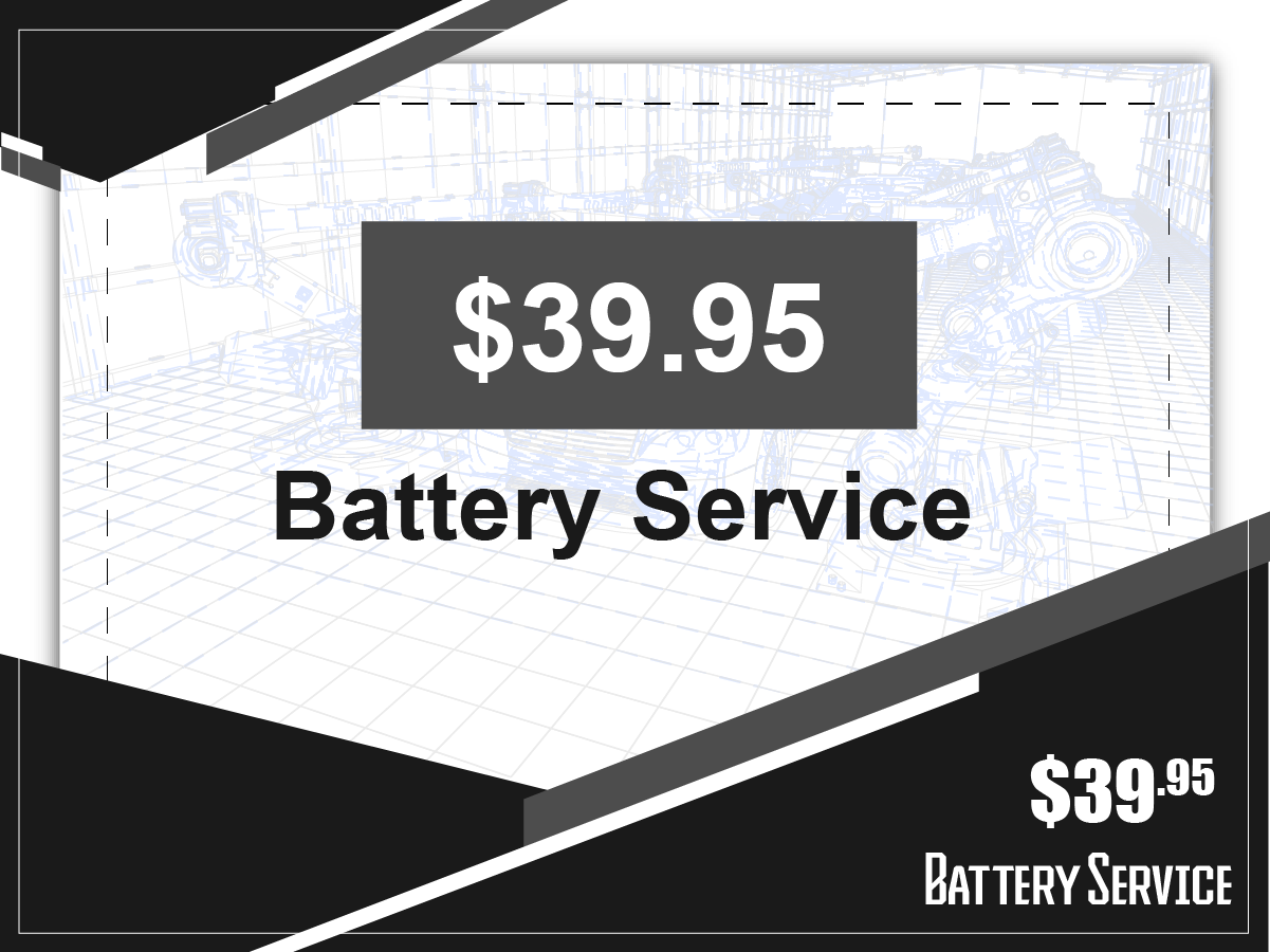Battery Service Special Coupon
