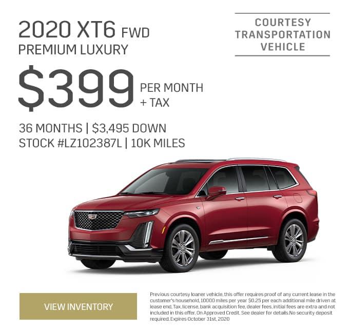 2020 Cadillac XT6 Premium Luxury Special