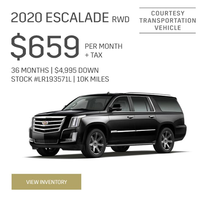 2020 Cadillac Escalade RWD Special