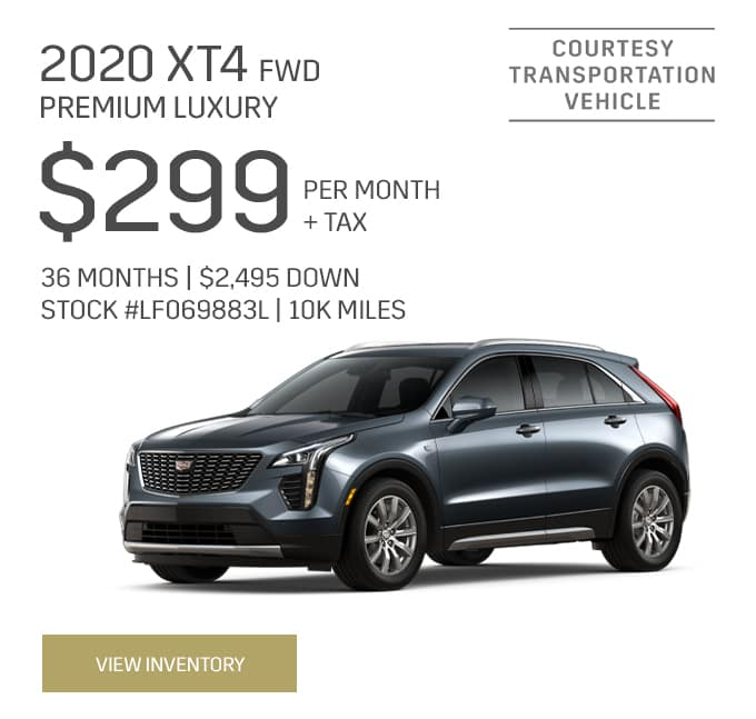 2020 XT4 Premium Luxury Special