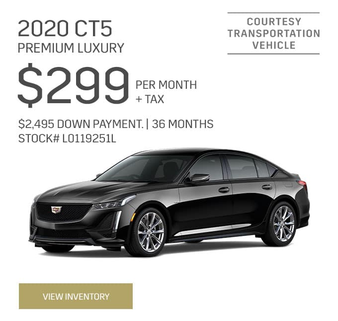 2020 CT5 Premium Luxury Special