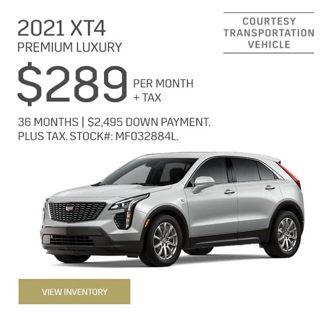 2021 Cadillac XT4 Premium/Luxury
