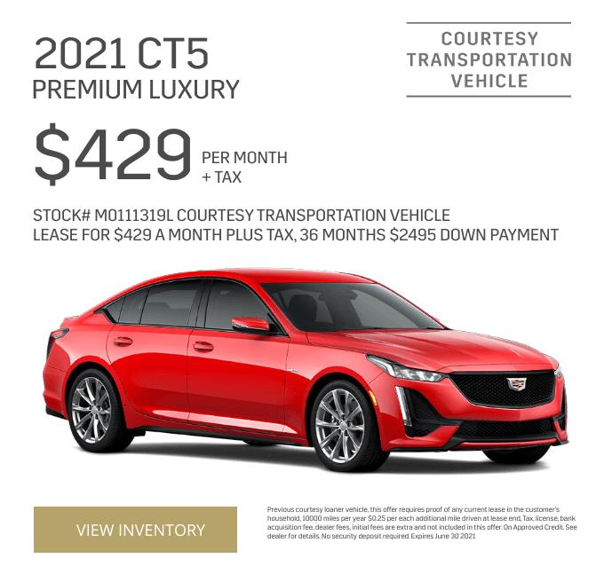 2021 CT5 Premium Luxury Special