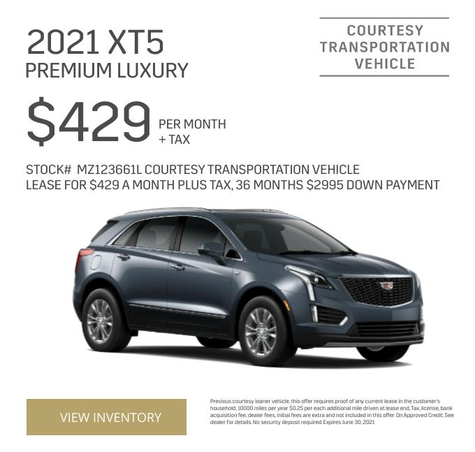 2021 Cadillac XT5 Premium Luxury Special