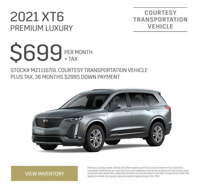 2021 XT6 Premium/Luxury