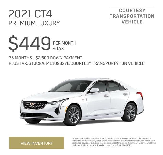 2021 Cadillac CT4 Premium/Luxury