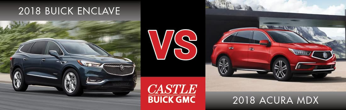 2018 Buick Enclave: Redesign, Styling, New Engines, Price >> Which Is Better 2018 Buick Enclave Or 2018 Acura Mdx Oak