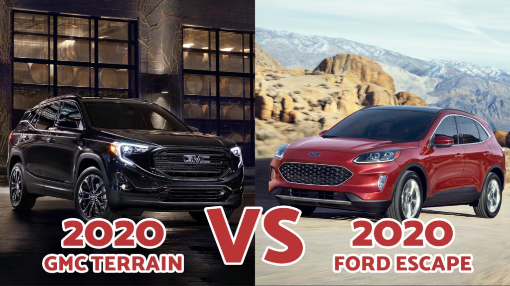 2020 GMC Terrain VS. 2020 Ford Escape