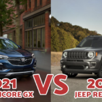 2021 Buick Encore GX VS. 2021 Jeep Renegade
