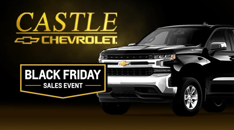 Black Friday Sales Event 0 Apr On Popular New 2018 2019 Chevy Models Castle Chevrolet