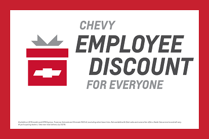 Chevy Employee Discount For Everyone Event Villa Park
