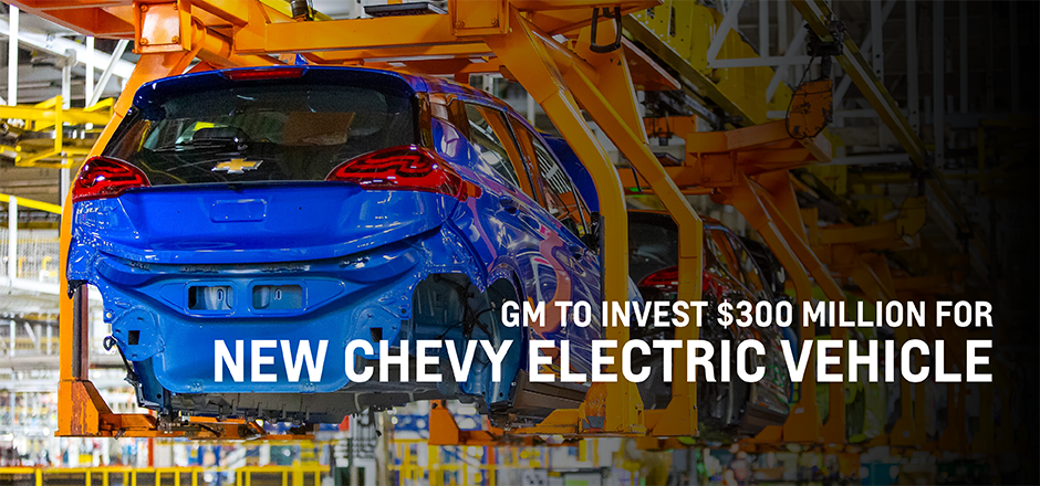 GM New Chevrolet Electric Vehicle