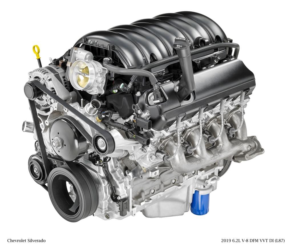 2019 Chevy 6.2L V8 Engine