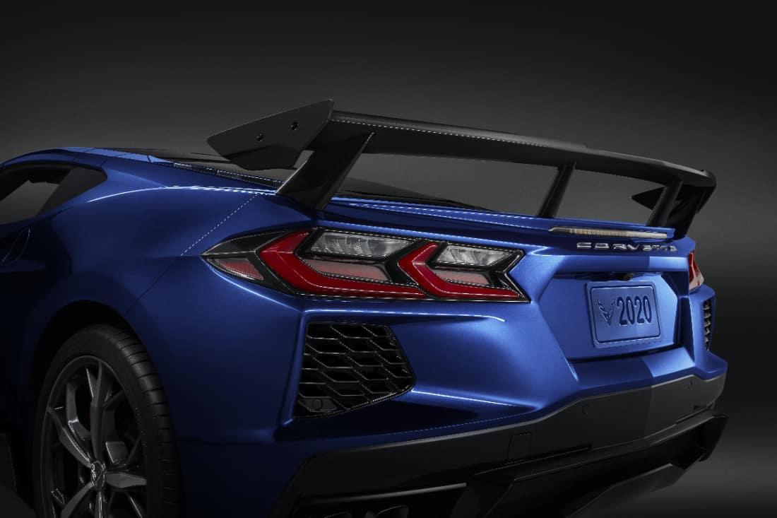 2020 Corvette Tail
