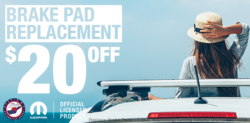 Brake Pad Replacement coupon