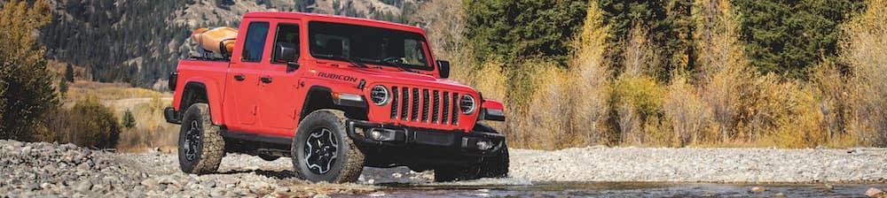 2020 Jeep Wrangler JT Gladiator Rubicon Firecracker Red