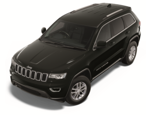Grand Cherokee Laredo in Diamond Black Crystal Pearl