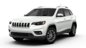 2020 Jeep Cherokee Latitude PLUS Bright White Clear Coat