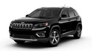 2020 Jeep Cherokee Limited in Diamond Black Crystal Pooler GA
