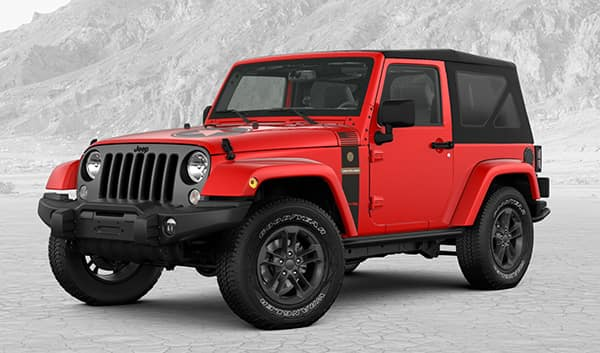 2018 Jeep Wrangler JK Freedom Edition