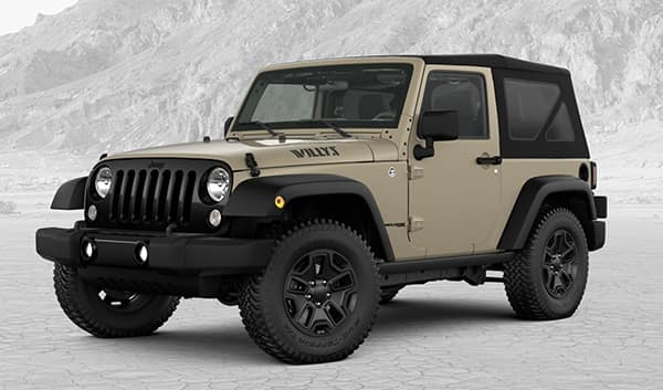 2018 Jeep Wrangler JK Willys Wheeler W