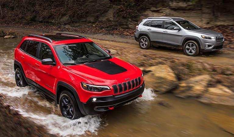 2019 Jeep Cherokee Interior Features