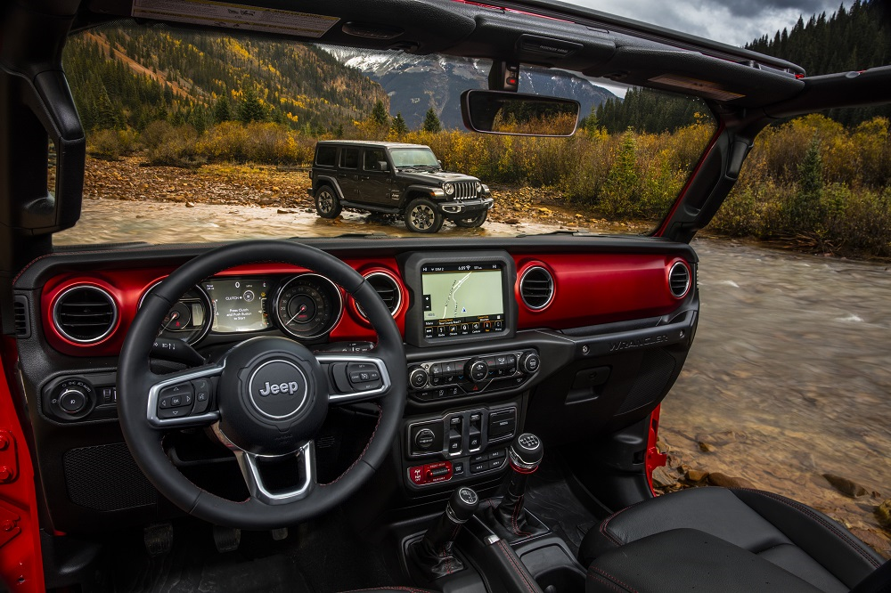 Jeep Wrangler Interior Features