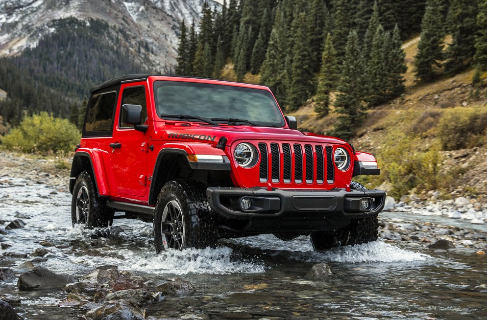 Jeep Wrangler Off-Roading Power