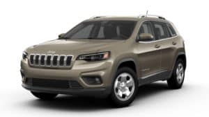 2019 Jeep Cherokee Latitude AWD Light Brownstone