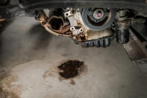 Leaking Car Fluids