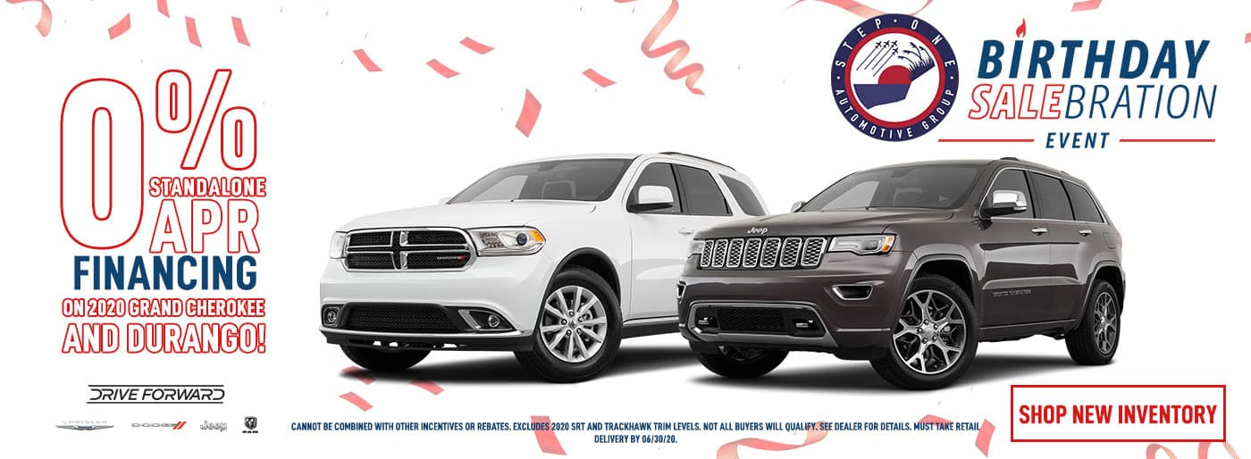 Grand Cherokee & Durango Offer - June 2020
