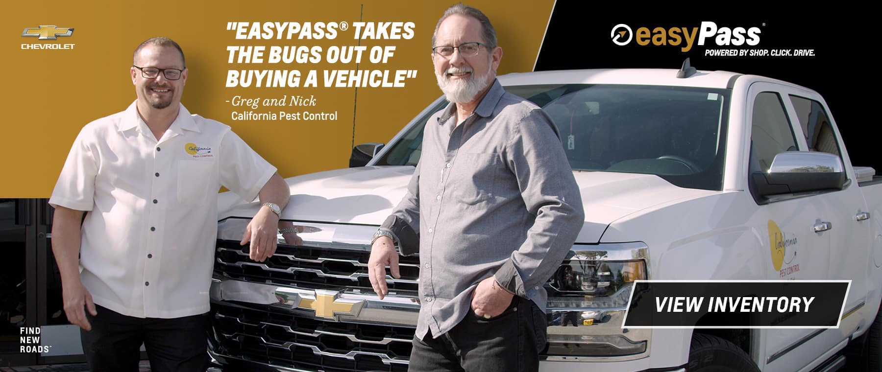 EasyPass Takes The Bugs Out Of Buying A Vehicle - View Inventory