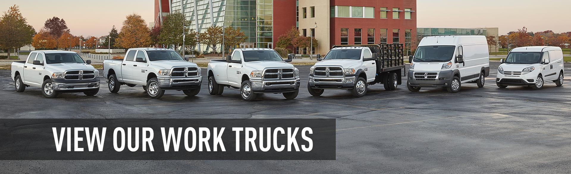 RAM Work Trucks