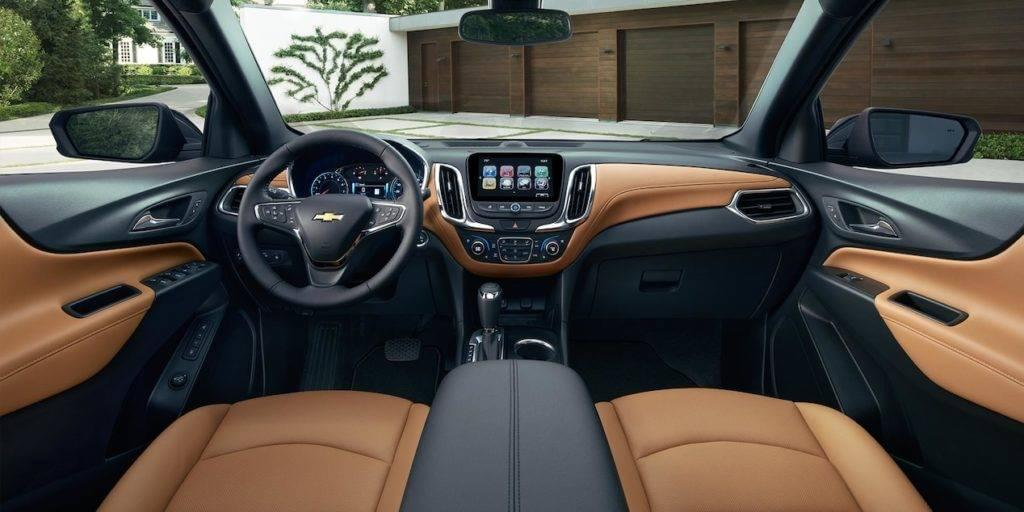 2017 Chevrolet Equinox Suv Chevy Interior Technology Features