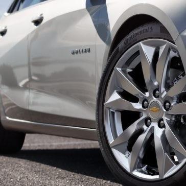 2018 Chevrolet Malibu Rim Detail