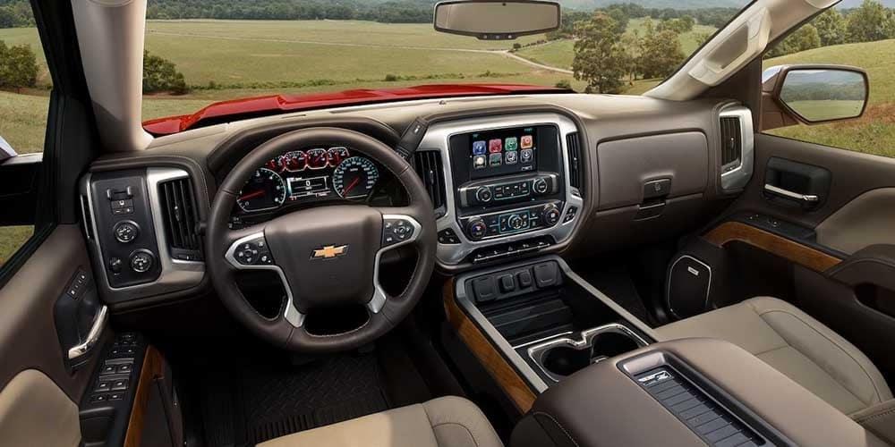 2018 Chevy Silverado 1500 Interior