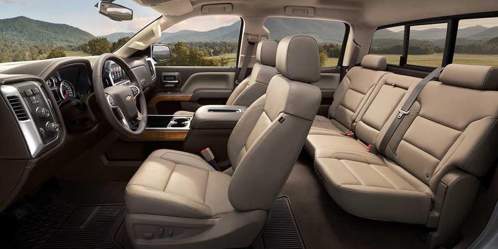 2018 Chevy Silverado 1500 Interior 3