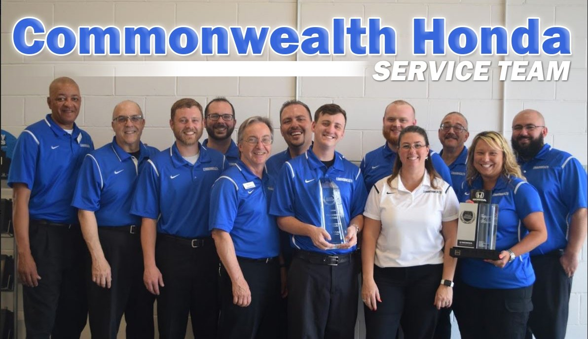 Commonwealth Honda Service team