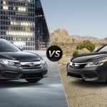 2016 Honda Civic LX vs 2016 Honda Accord LX