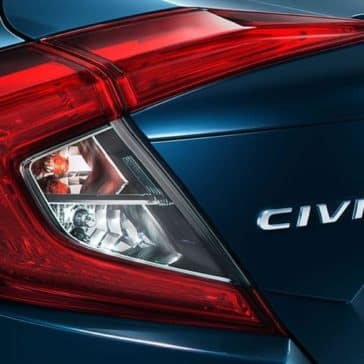 2018 civic sedan touring ext rear taillight
