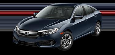 New 2018 Honda Civic LX Front Wheel Drive Sedan