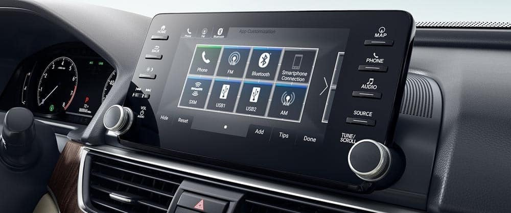 2018 accord 8in display touchscreen
